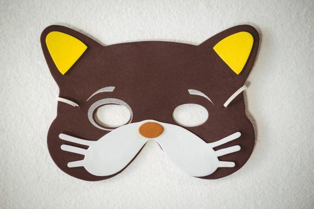 jak zrobić maskę kota