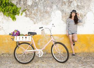 jazda na rowerze w ciąży zwykłym i stacjonarnym