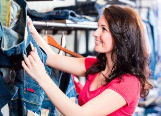 jeans, kobieta