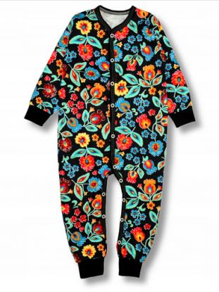 Piżama jednoczęściowa rampers dla dziecka