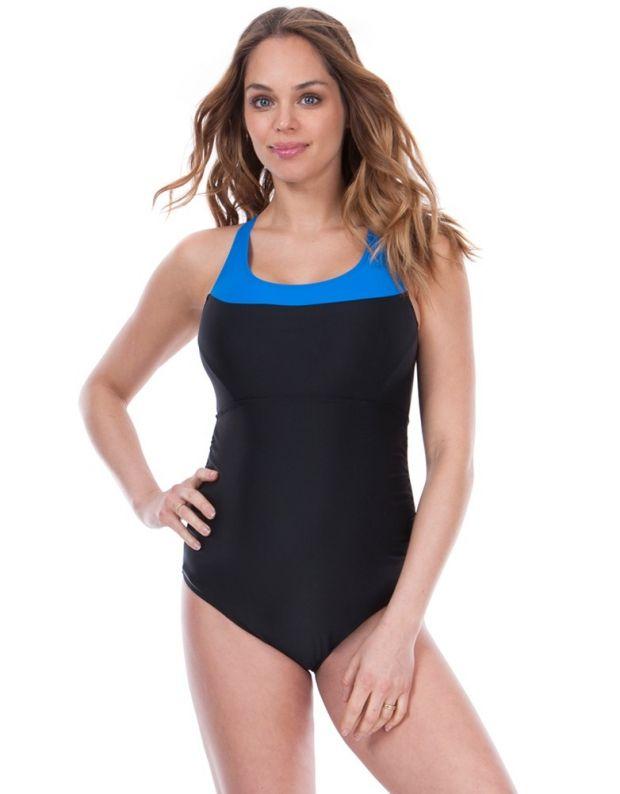 jednoczęściowy strój kąpielowy dla ciężarnej na basen