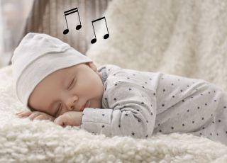 Jednostajny dźwięk wycisza niemowlę