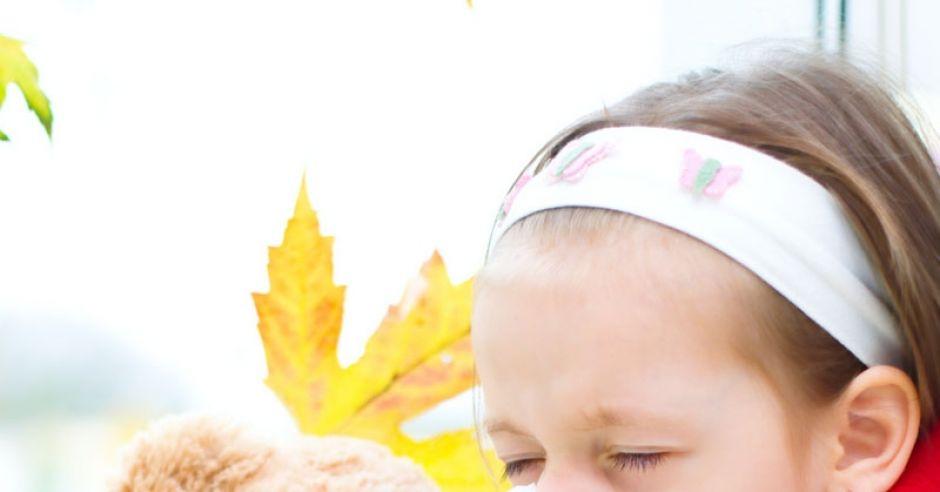 jesień, dziecko, katar, przeziębienie, przedszkolak, infekcja