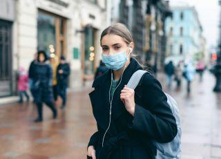 jesienią w Polsce epidemia kronawirusa i grypy