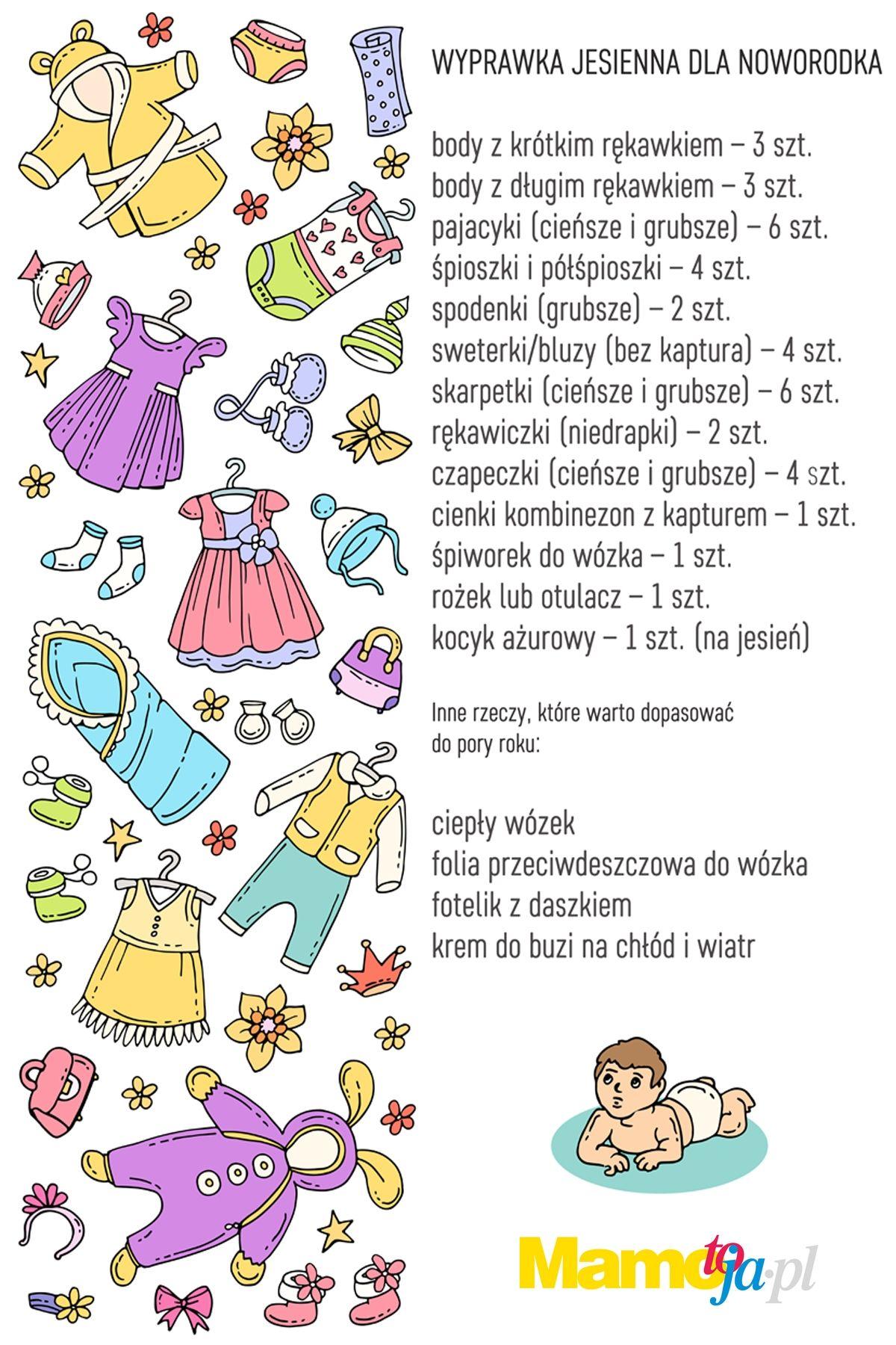 20c396cec14d1d Jesienna wyprawka dla noworodka: lista obowiązkowa! | Mamotoja.pl