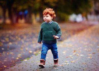 Jesienne i zimowe buty dla dzieci