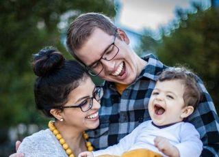 Jessica i Karl z ich synkiem Peterem