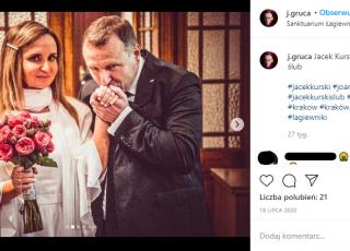 Joanna i Jacek Kurscy zostaną rodzicami