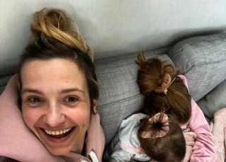 Joanna Koroniewska z córkami
