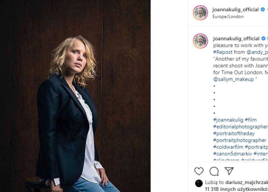 """Joanna Kulig o byciu mamą: """"Miałam doły, płakałam"""""""