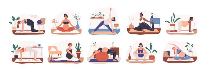 joga w ciąży dla początkujących