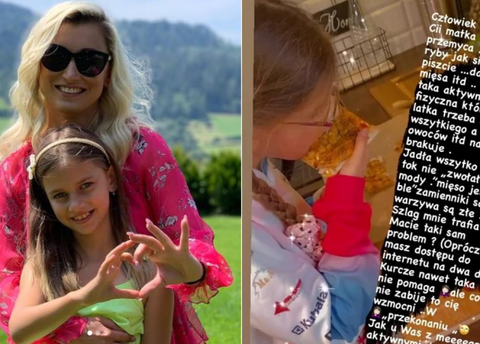 Justyna Żyła narzeka na brak apetytu córki