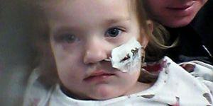 Kacie - dziewczynka, która połknęła baterię guzikową
