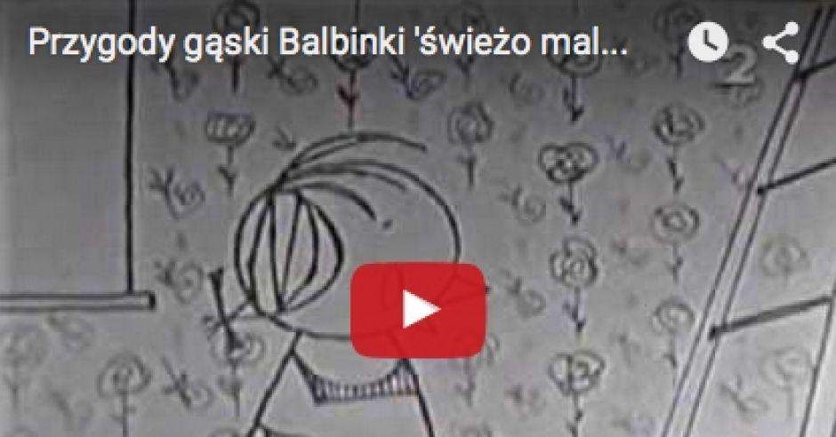"""Kadr z Bajki """"Gąska Balbinka"""""""