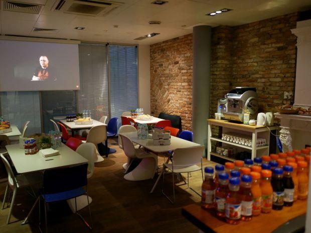 kafeteria i partnerzy sztabu WOŚP w Edipresse