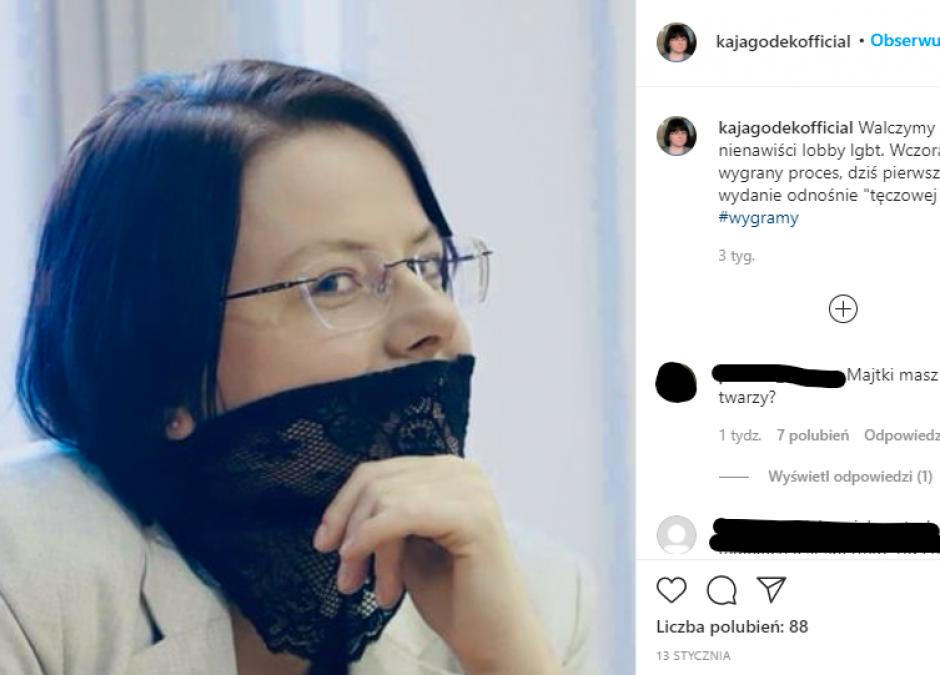 Kaja Godek uderza w dzieci z in vitro