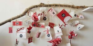 kalendarz adwentowy dla dziecka DIY