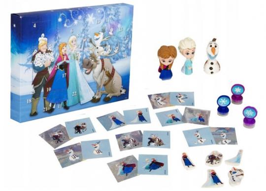 Kalendarz adwentowy Frozen Kraina Lodu