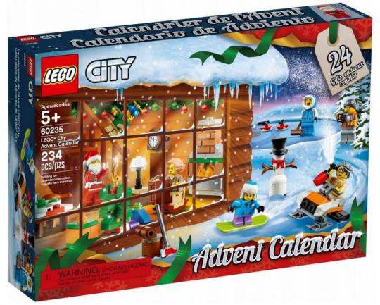 Kalendarz adwentowy Lego City