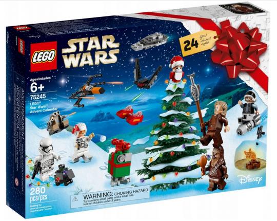 Kalendarz adwentowy Lego Star Wars