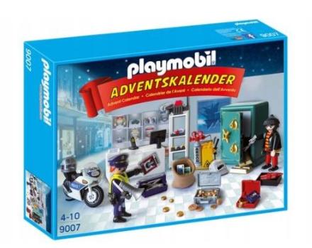 Kalendarz adwentowy Playmobil Policja