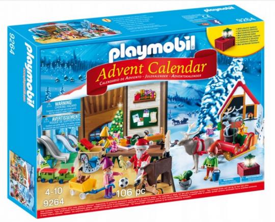 Kalendarz adwentowy Fabryka Świętego Mikołaja