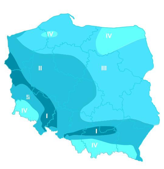 kalendarz pyleń mapa Polski
