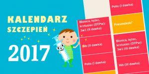 kalendarz szczepień