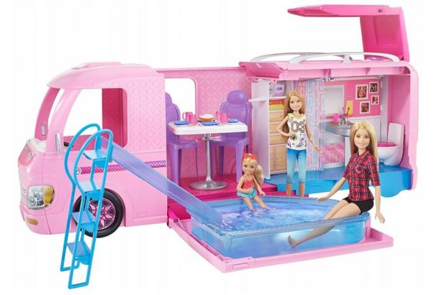 Wymarzony kamper dla Barbie