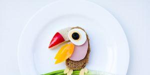 kanapka, ptak, zwierzątko