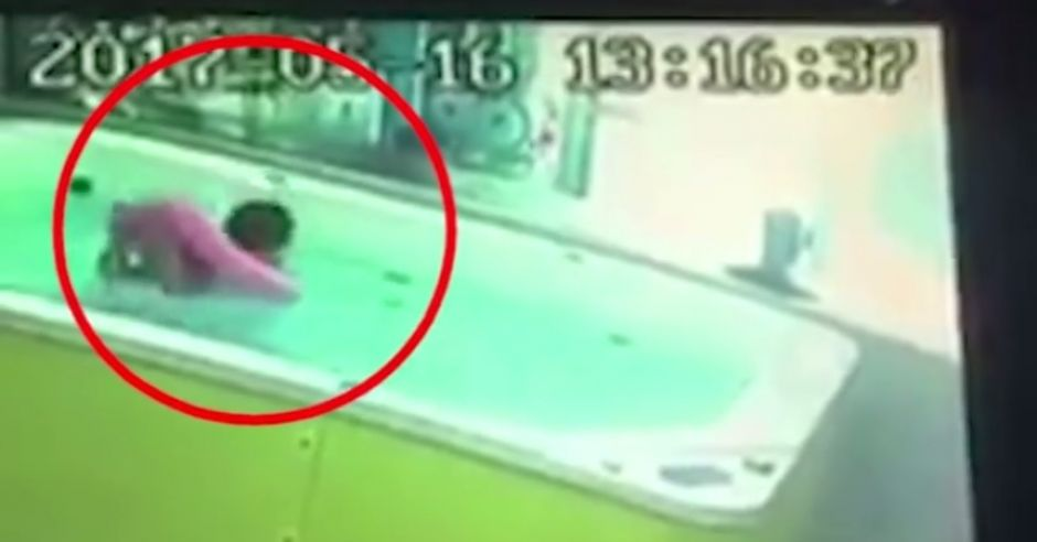 Kąpiel bez opieki jest niebezpieczna