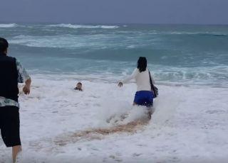 Kąpiel w morzu może być niebezpieczna