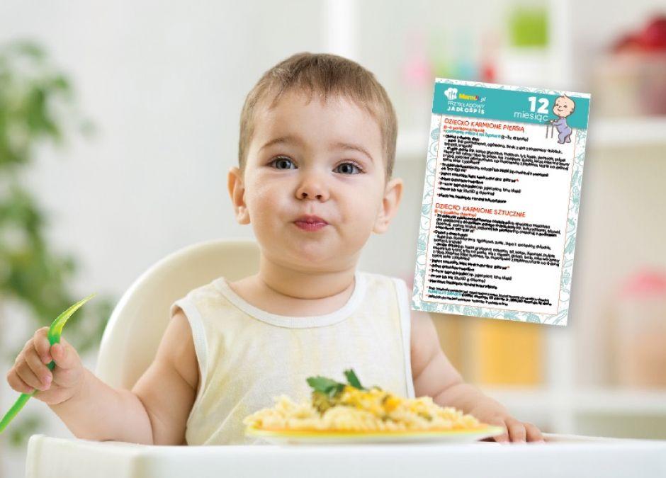karmienie dziecka 12 miesiąc