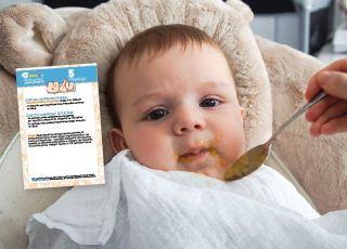 karmienie dziecka 5 miesiąc