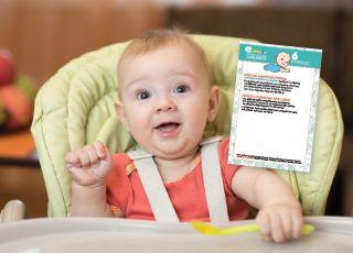 karmienie dziecka 6 miesiąc