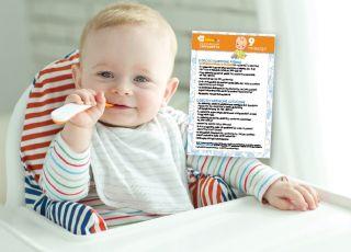 karmienie dziecka 9 miesiąc