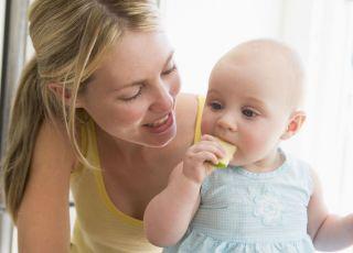 karmienie, kuchnia, mama, niemowlę