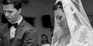 Karmienie piersią podczas ślubu oburzyło internautów