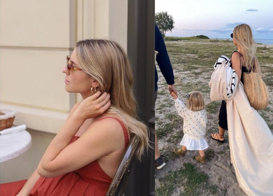 """Kasia Tusk zbiera komplementy po porodzie. """"Kwitniesz będąc mamą"""""""