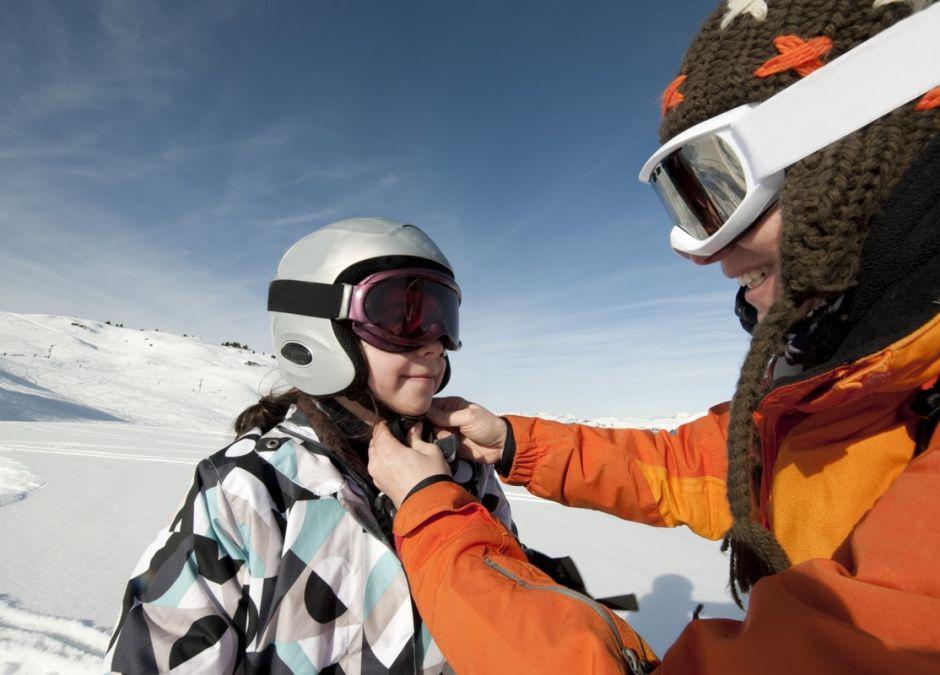 kask narciarski dziecięcy