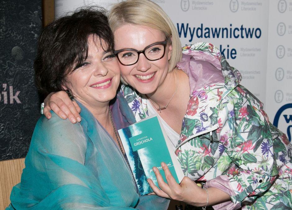 Katarzyna Grochola i Dorota Szelągowska