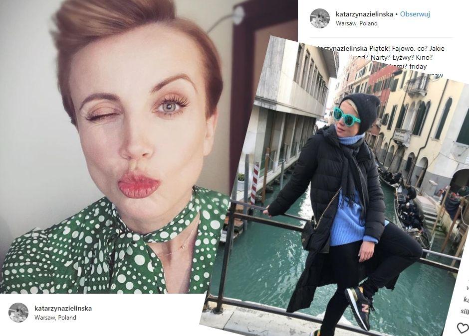 Katarzyna Zielińska stylizacje z Instagrama