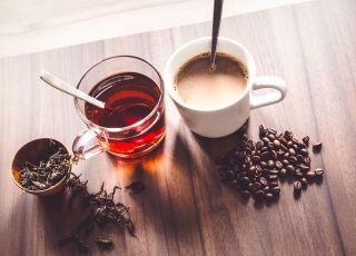 kawa, herbata, kalorie
