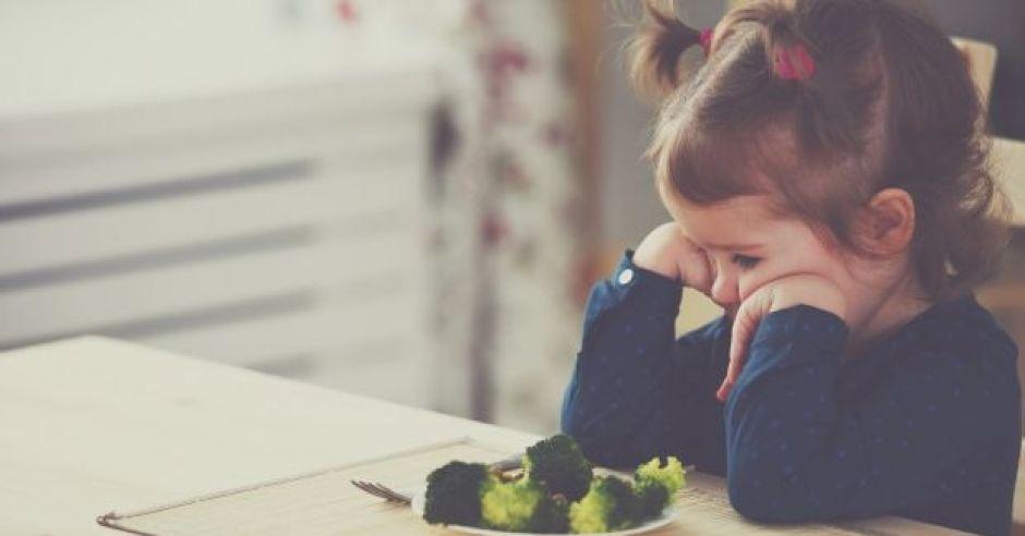kiedy dziecko nie lubi warzyw