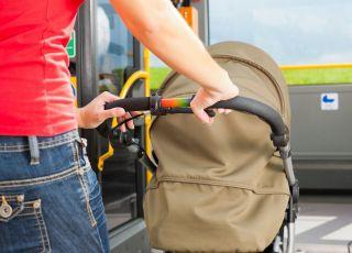 kierowca autobusu obraził matkę z dzieckiem w wózku