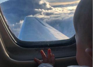 Klara Lewandowska lata samolotem