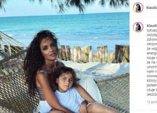 Klaudia El Dursi o hospitalizacji syna