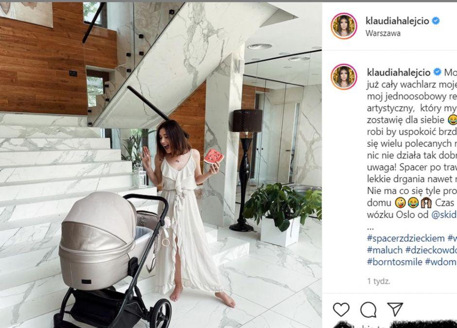 """Klaudia Halejcio pokazuje, jak NAPRAWDĘ wygląda macierzyństwo. """"Masz dystans – piszą fani."""