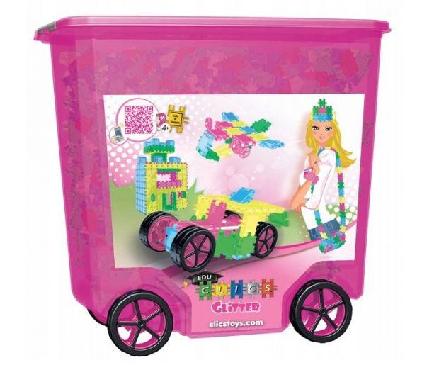 klocki clics RollerBox Glitter