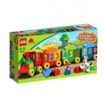 Pociąg z cyferkami Lego Duplo